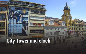 City Tower and clock