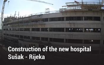 Construction of the new hospital Sušak - Rijeka