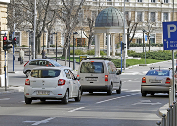 Densità di traffico a Fiume