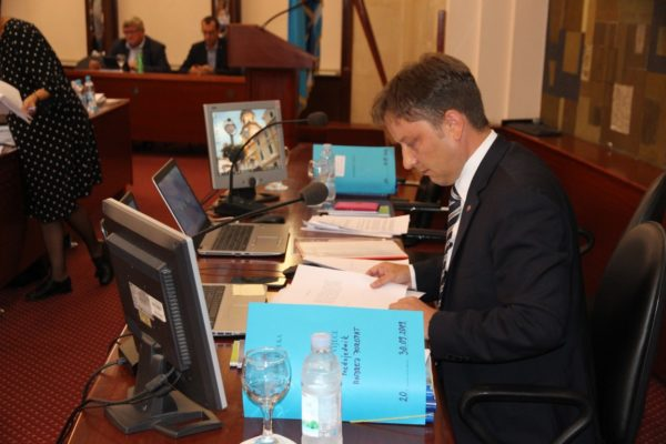 Presidente del Consiglio cittadino Andrej Poropat