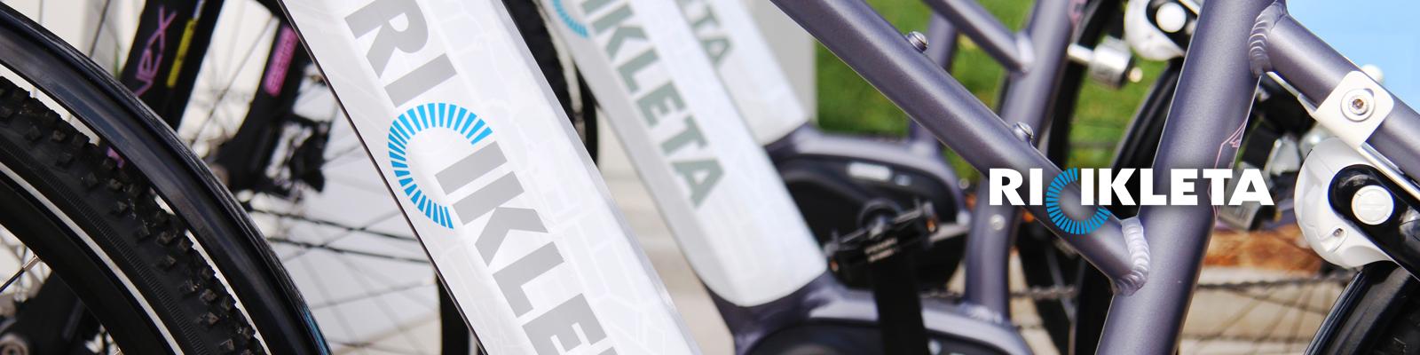 E-bike sharing «RiCikleta» Le bici elettriche