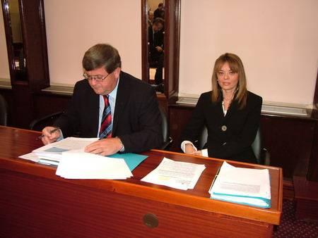 15.  sjednica Gradskog vijeća - Vojko Obersnel i Edita Stilin