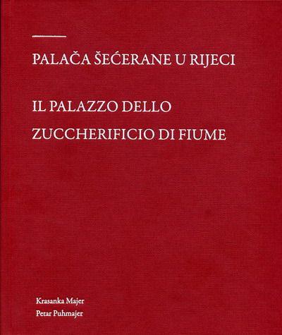 Naslovna stranica Monografije Palača Šećerane