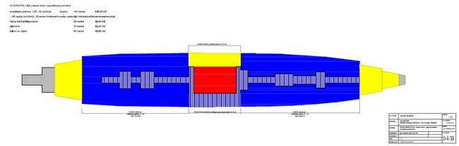 Galeb - prostorni plan