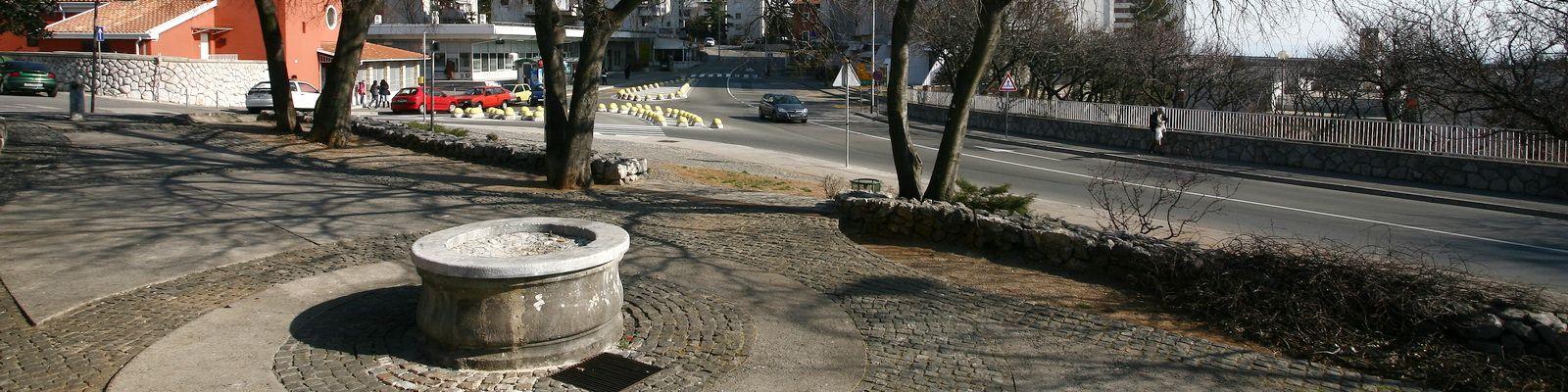 Podvežica fontana