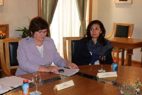 Pročelnica Ankica Perhat i savjetnica Karla Mušković
