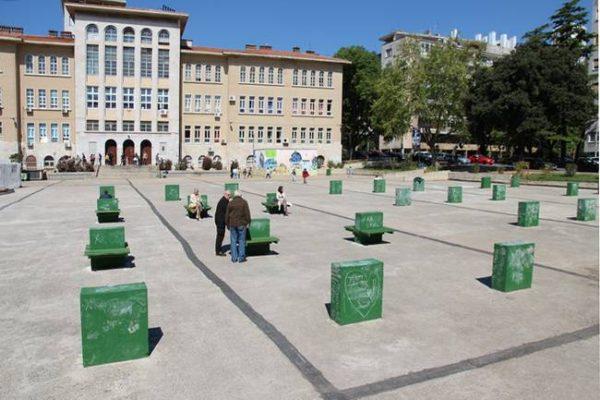 U partnerstvu građana i Grada uređen trg ispred OŠ Nikola Tesla