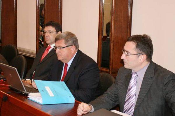 Željko Jovanović, Vojko Obersnel i Miroslav Matešić, gradonacelnik i zamjenici