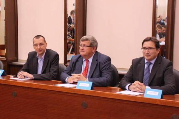 Marko Filipović, Vojko Obersnel i Miroslav Matešić