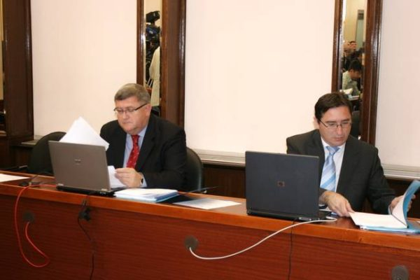 Vojko Obersnel i Miroslav Matešić