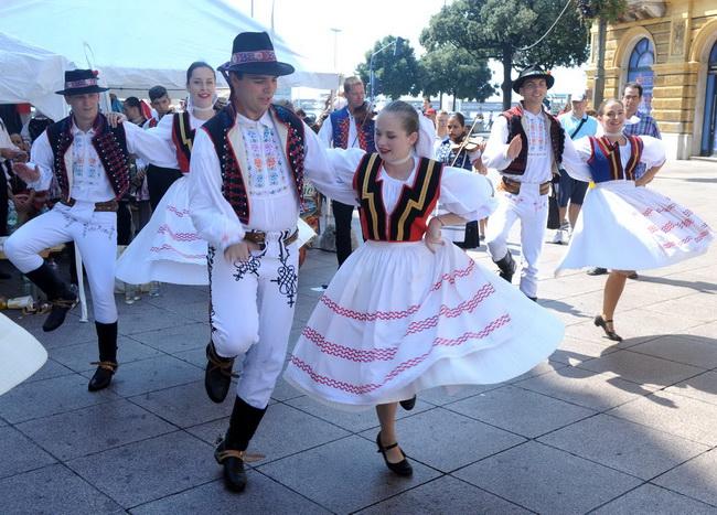 Na Korzu je održan kulturni program Matice slovačke Rijeka