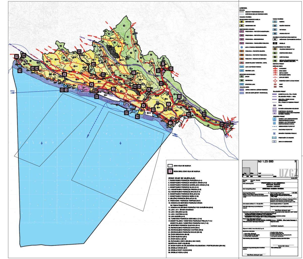 Izmjena i dopuna Prostornog plana uređenja grada Rijeke
