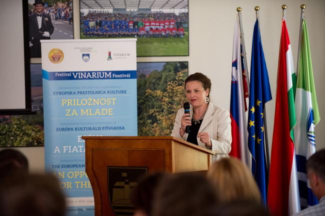 Irena Kregar Šegota govorila je o riječkom iskustvu procesa kandidature za EPK