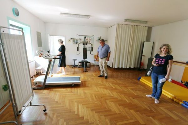 Dvorana sa spravama za rehabilitaciju