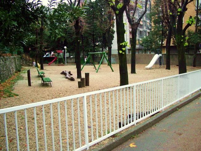 Igralište vrtića Potok uređeno u sklopu Riječkog programa lokalnog partnerstva