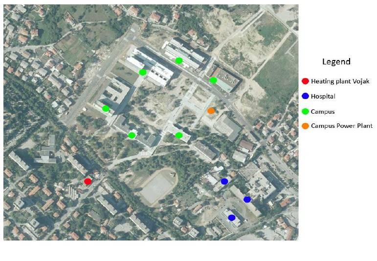 Lokacija izgradnji suvremene visokoučinkovite kogeneracijske toplane za potrebe stanovnika Vojaka, Sveučilišnog kampusa i KBC Sušak