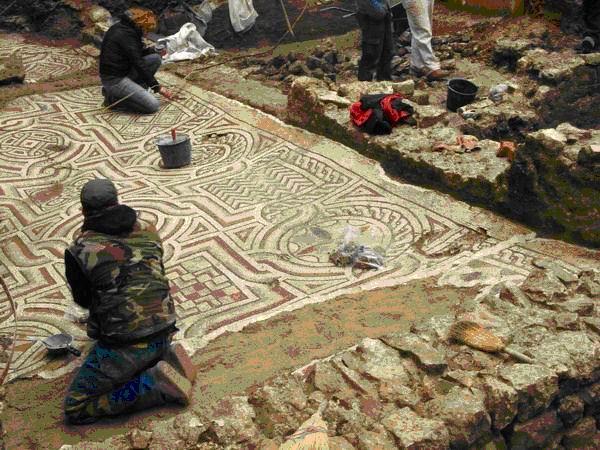 Mozaici antičke Tarsatice ugledali svjetlo dana