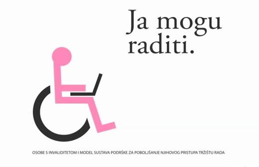 Osobe s invaliditetom i model sustava podrške za poboljšanje njihovog pristupa tržištu rada