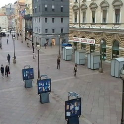 Korzo - city of Rijeka popular promenade