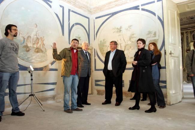 Upravna zgrada bivše rafinerije šećera u Rijeci krije bogate ukrašene štukature i prekrasne freske