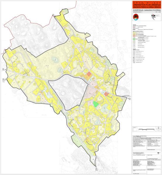 Urbanistički plan uređenja gradskog područja Gornja Drenova
