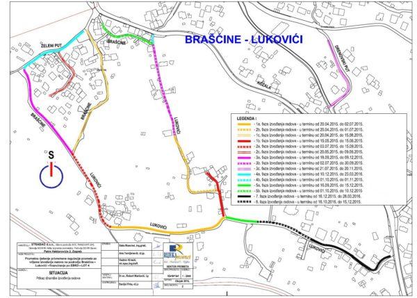 Gradnja i rekonstrukcija vodoopskrbe i odvodnje na području MO Brašćine - Pulac 2