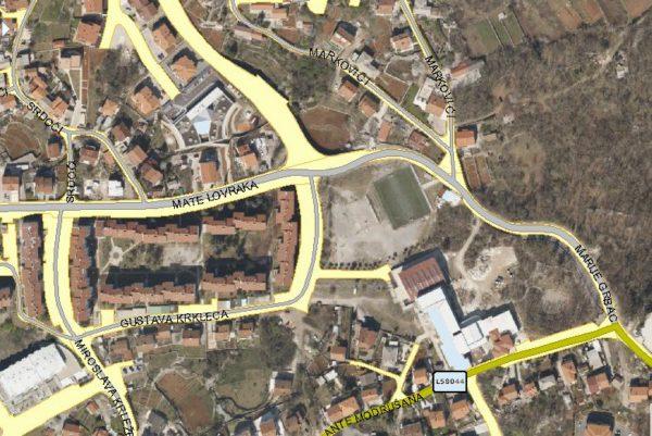 Izvođenje radova na gradnji kanalizacije na području MO Srdoči