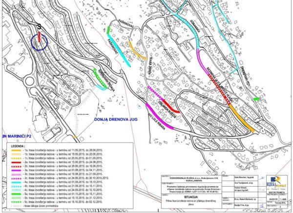 Radovi na vodno-komunalnoj infrastrukturi na području Mjesnih odbora Škurinje i Drenova 2