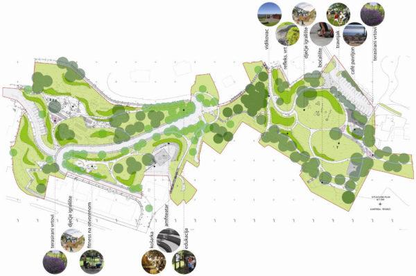 Arhitektonsko-urbanističko i krajobrazno uređenje gradskog parka Šparić