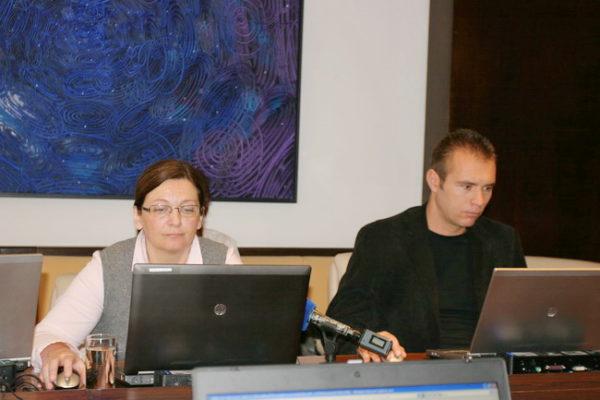 Sanda Sušanj i Ivan Šarar, 87. gradonačelnikov kolegij