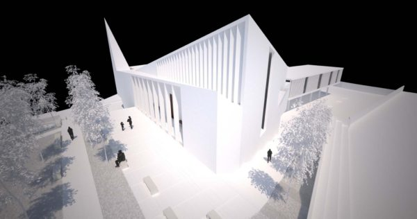 Rekonstrukcija Hrvatskog doma Vežica i izgradnja crkve Sv. Ane