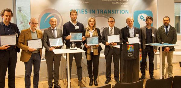 Dodjela prestižne nagrade za projekt iURBAN (Foto: http://www.eurocities.eu/eurocities/news/-Cities-in-transition-conference-GDC-awards-winners-WSPO-AHYLLL)