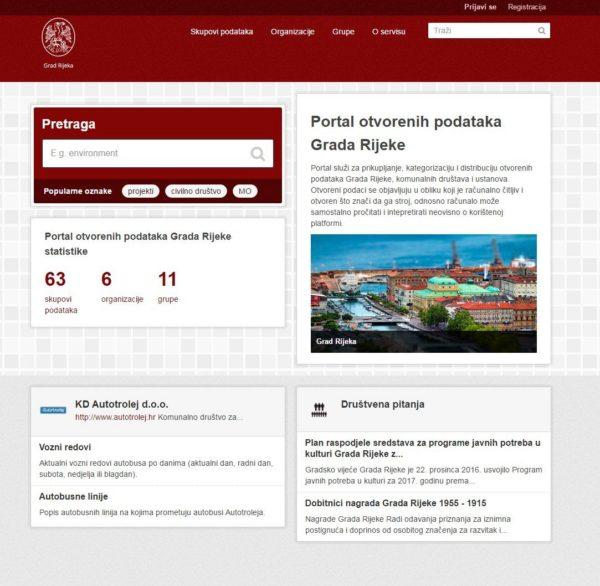 Portal otvorenih podataka