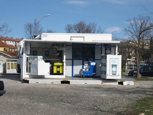 Mobilno reciklažno dvorište MO Srdoči