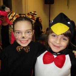 Maca Korina i pingvin-ka Linda