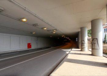 Cesta D404 – Tunelski priključak Pećine