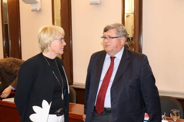 Dorotea Pešić Bukovac i Vojko Obersnel
