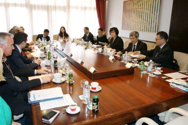 Izaslanstvo Ministarstva trgovine NR Kine