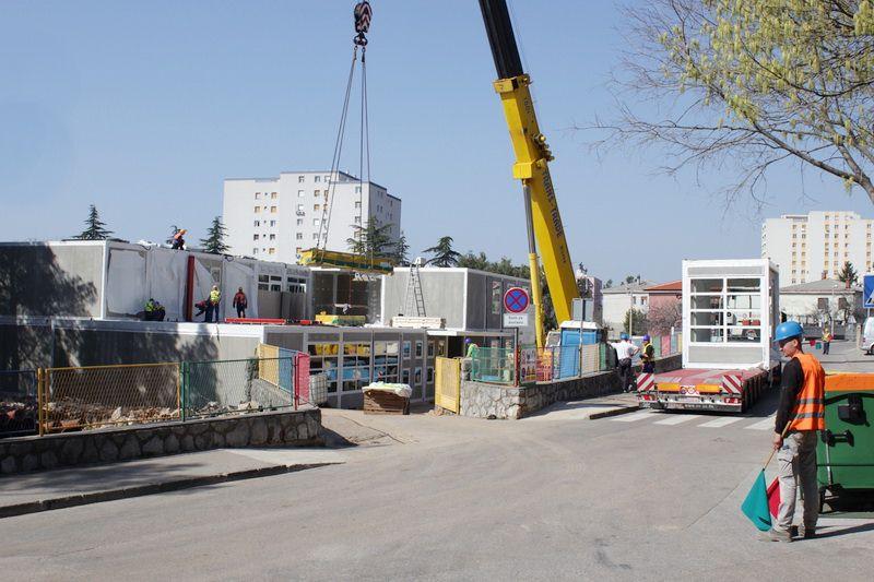 Izgradnja DV Morčić