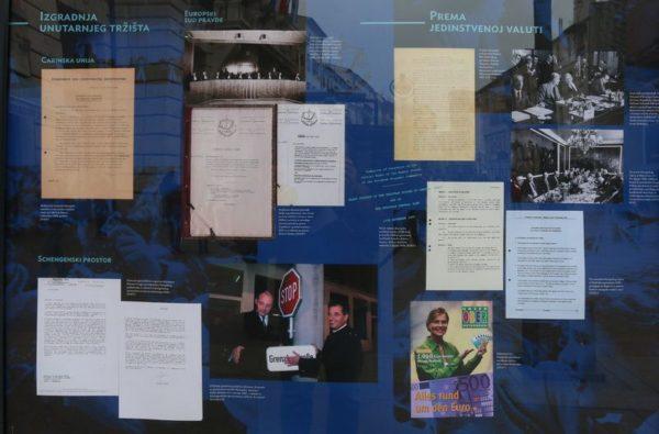 Izložba Sve bliža unija - ostavština ugovora iz Rima za Europu današnjice