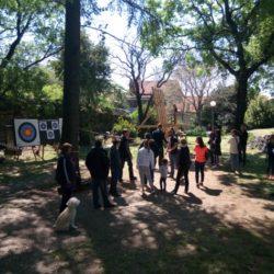 Demonstracija srednjevijekovnog streličarstva