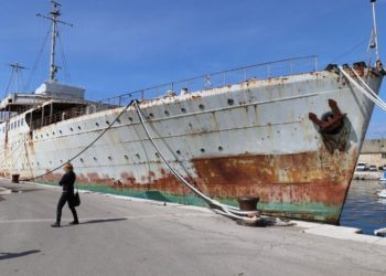 Pretvaranje broda Galeb u muzej