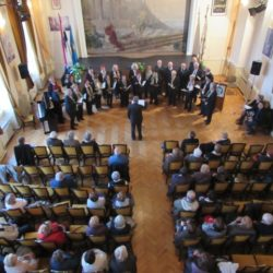 Nastup mješovitog zbora HČT