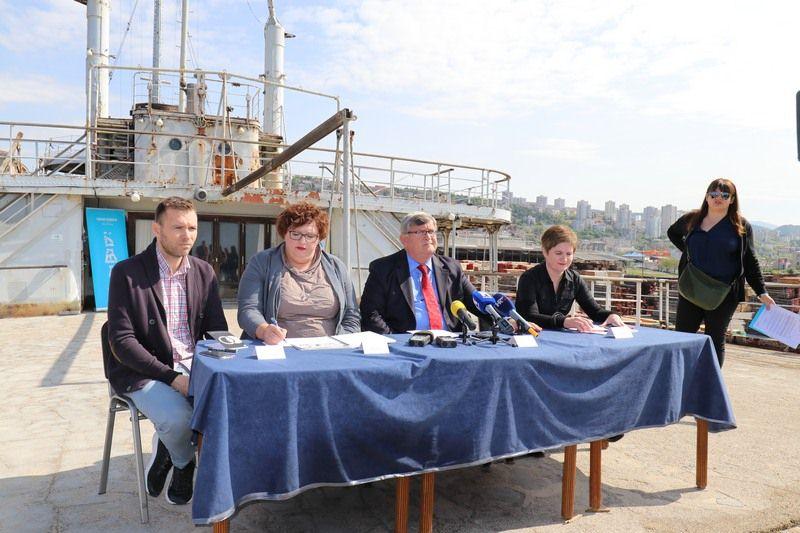 Predstavljanje projekta broda Galeb i Palače šećerane