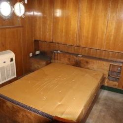 Unutrašnjost broda Galeb