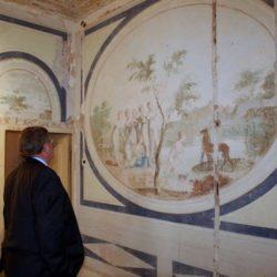 Upravna zgrada- restauracija freski