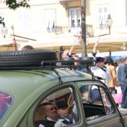 Na natjeccnju sudjeluje 40-tak automobila