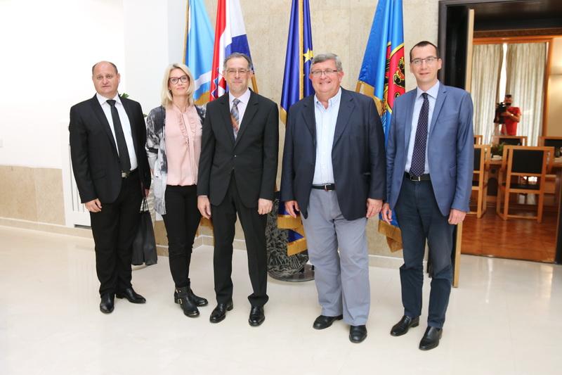 Novi generalni konzul Republike Srbije u Rijeci Goran Petrović u nastupnom posjetu