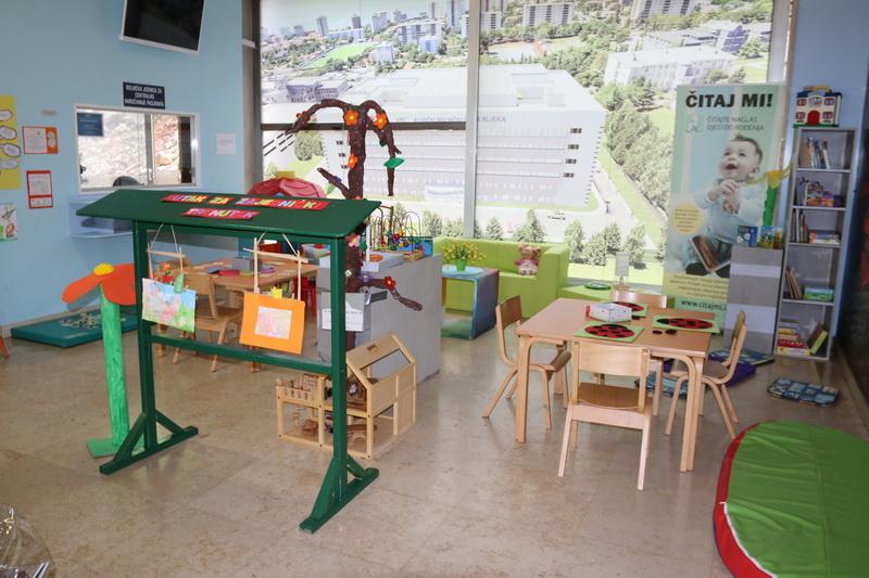 Otvorena igraonica u Dječjoj bolnici Kantrida