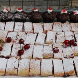 Štrudle od trešanja i muffini s trešnjama